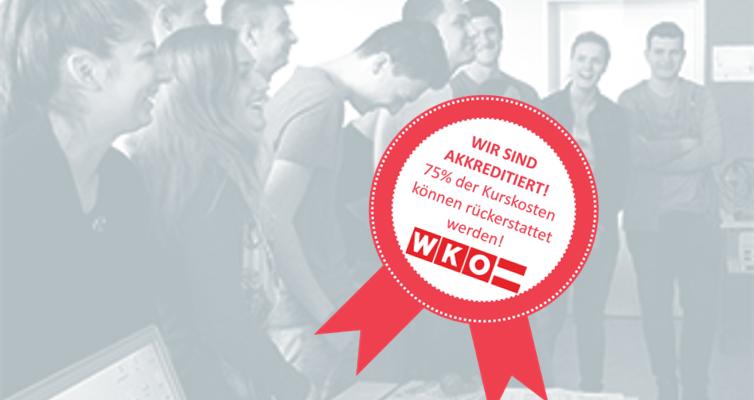 Unser Lehrlingsprogramm wird von der WKO gefördert!